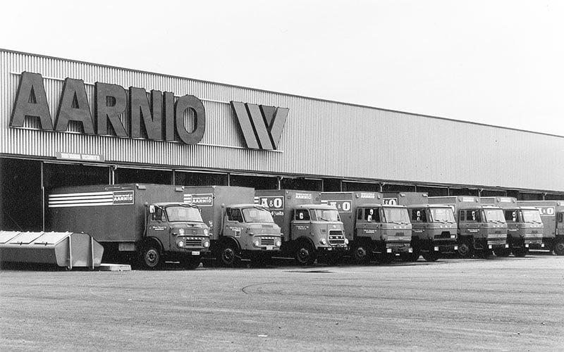 Aarnio logistiikka vanhat kuorma-autot